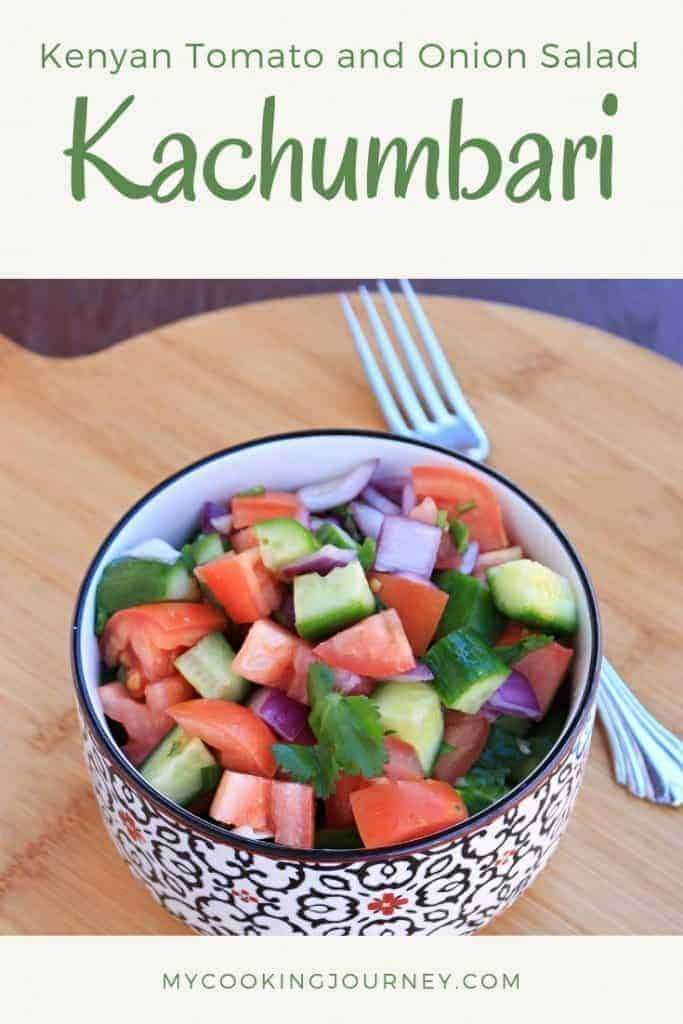 Kachumbari | Kenyan Tomato and Onion Salad