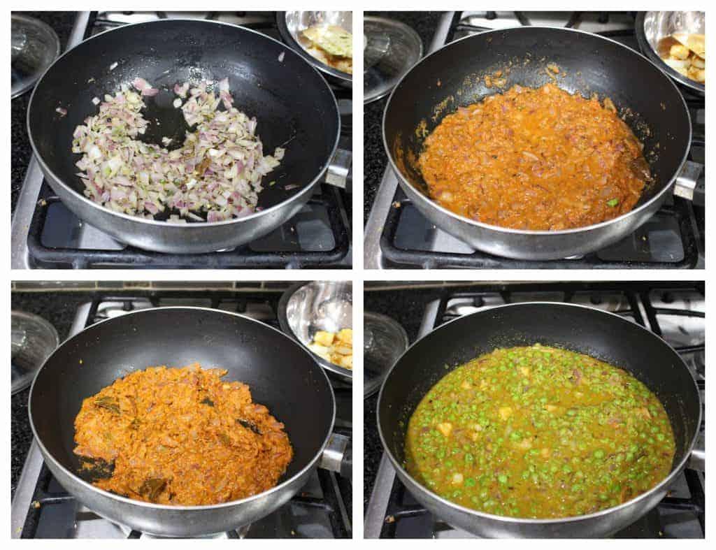 Matar Ka Nimona | UP Style Green Peas Curry