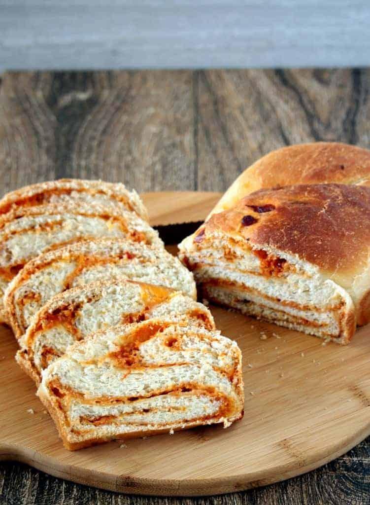 Swirl Bread slices