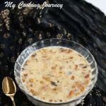 Sheer Khorma in a bowl